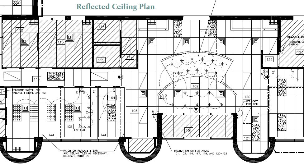 Show Floor Plan In Reflected Ceiling Plan Revit 2017 Back